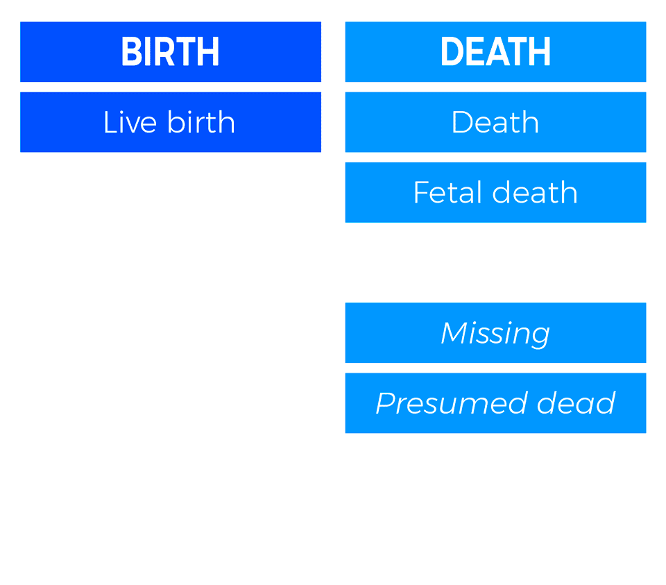 HERA - BIRTH AND DEATH