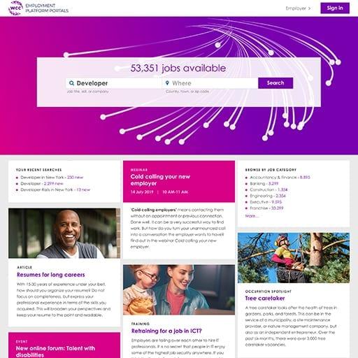 Employment Platform Portals