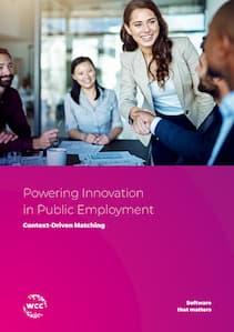 Public Employment brochure cover